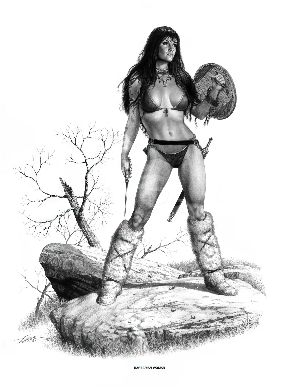 Classic Barbarian Woman