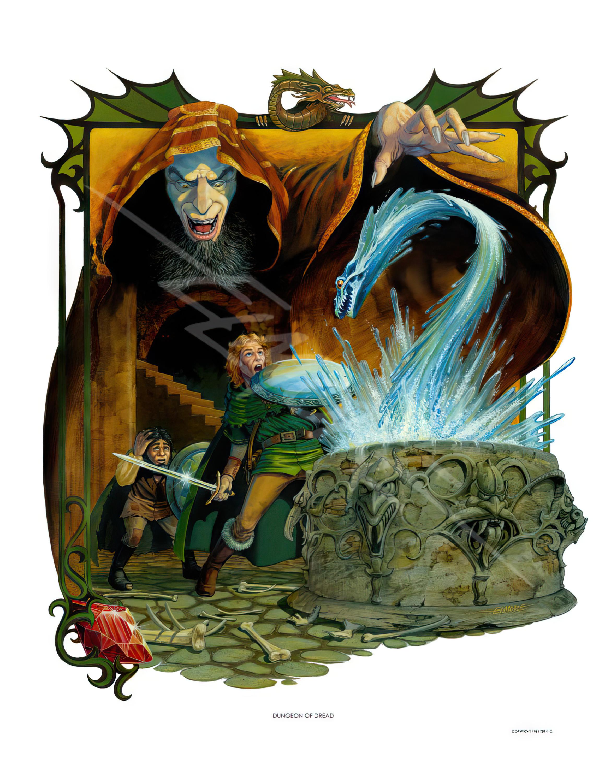 D&D - Endless Quest - Dungeon Of Dread