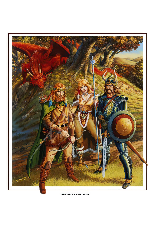 Dragonlance - Dragons Of Autumn Twilight