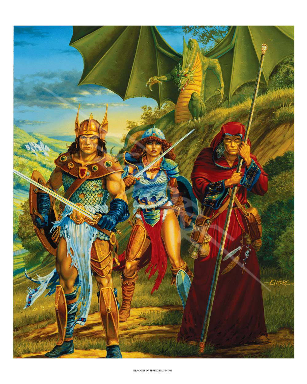 Dragonlance - Dragons Of Spring Dawning