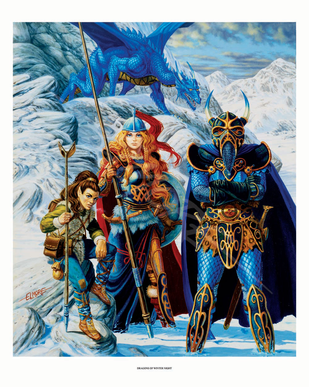 Dragonlance - Dragons Of Winter Night Giclee