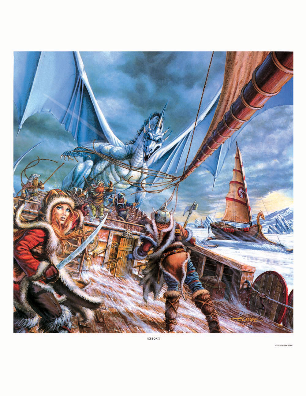 Dragonlance - Ice Boats