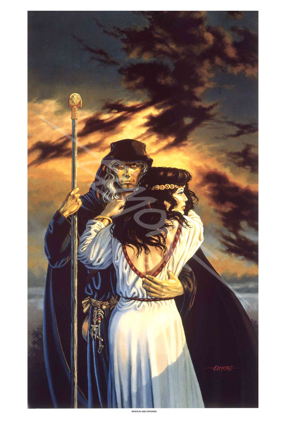 Dragonlance - Raistlin And Crysania