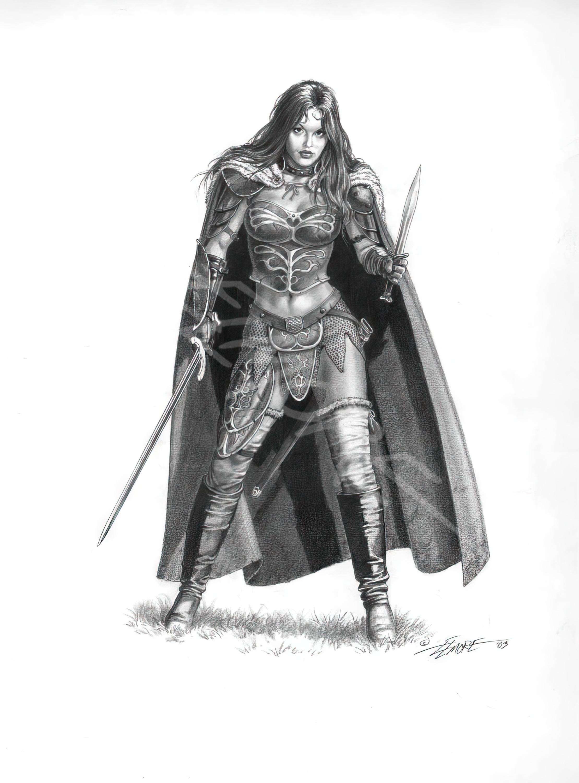 Mia The Warrior