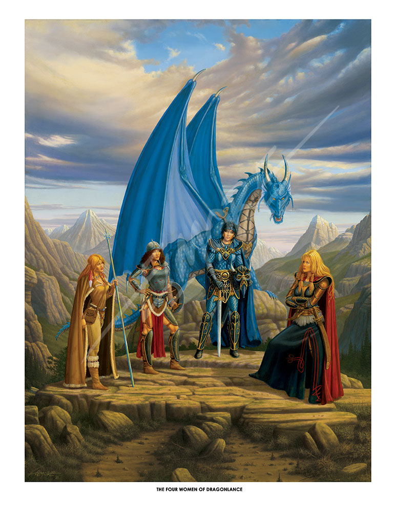 The Four Women Of DragonLance