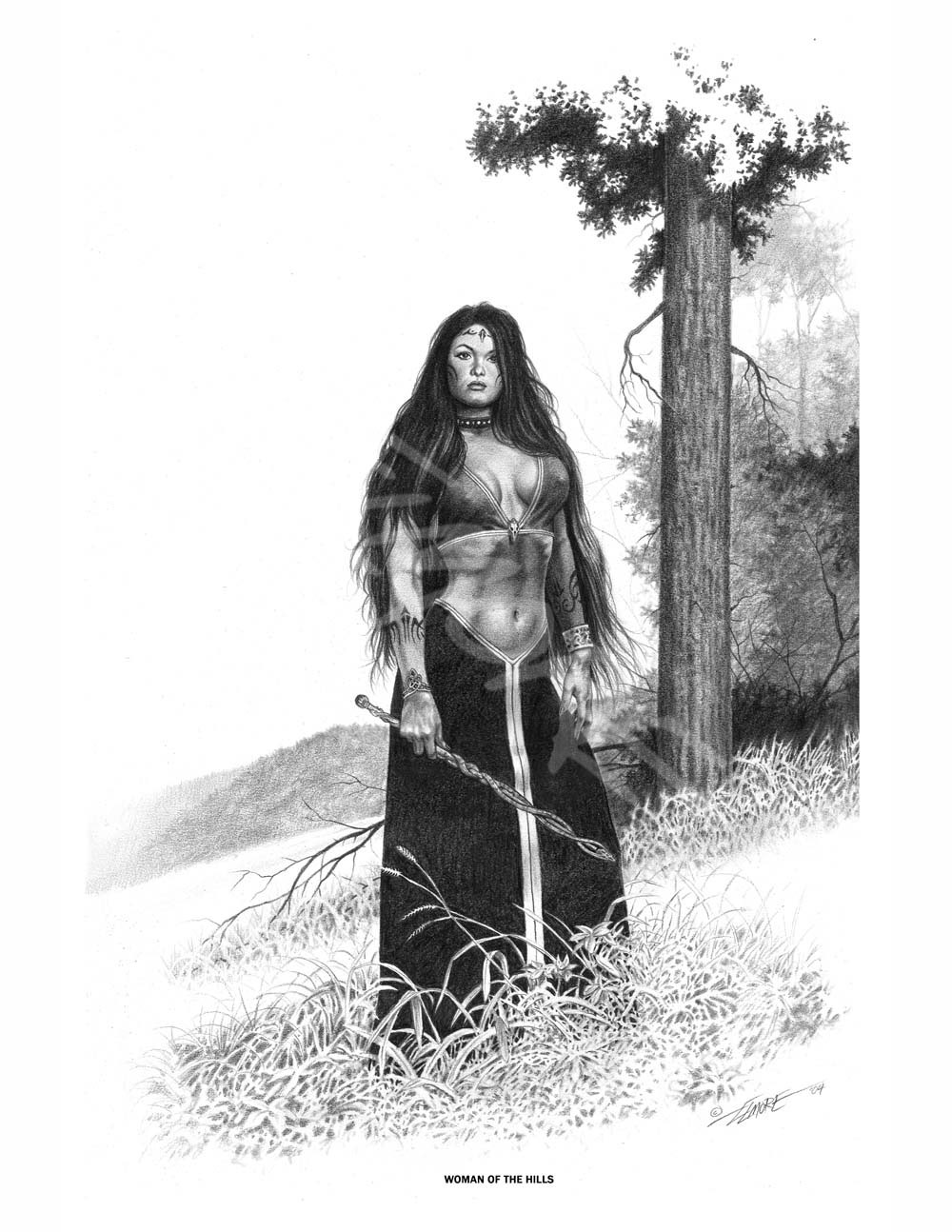 Woman Of The Hills