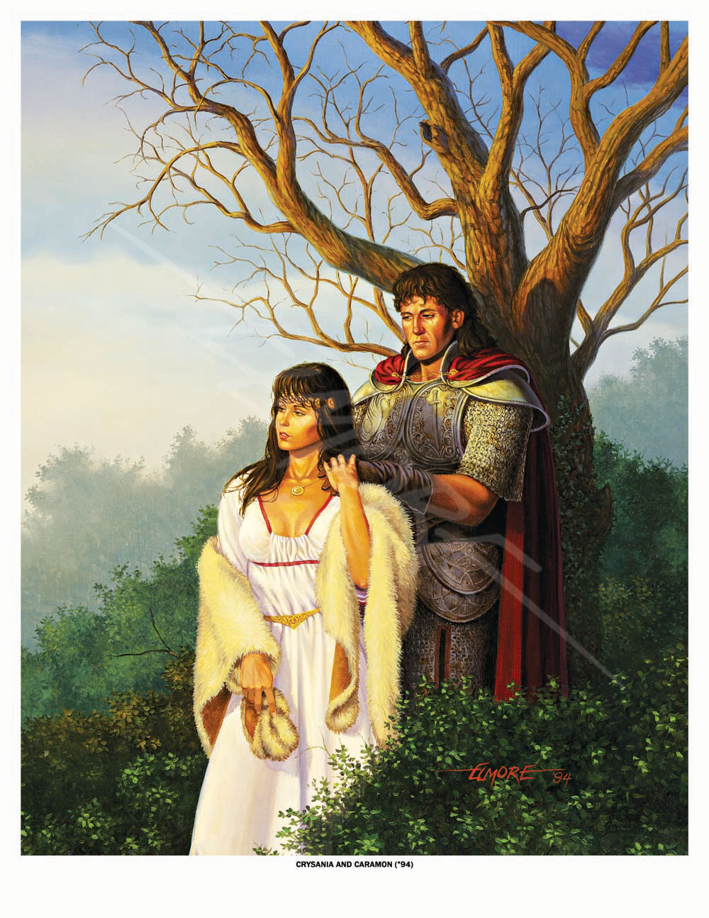 Dragonlance - Crysania And Caramon 94