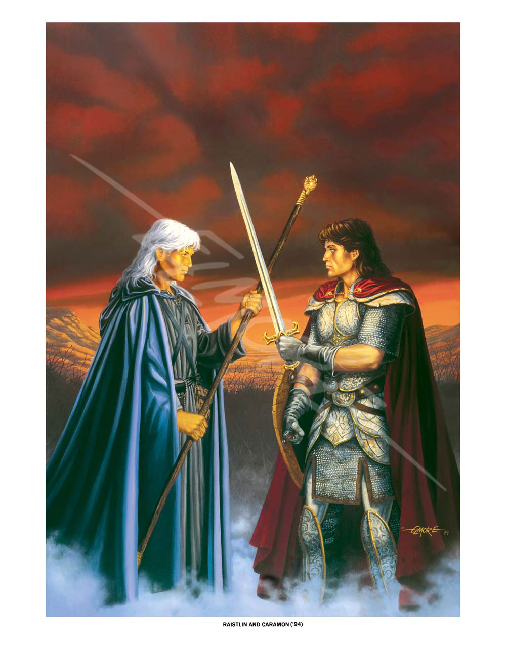 Dragonlance - Raistlin And Caramon 94